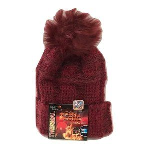 😀 3 for $20 NWT Red Heat Trendz Thermal Knit Hat